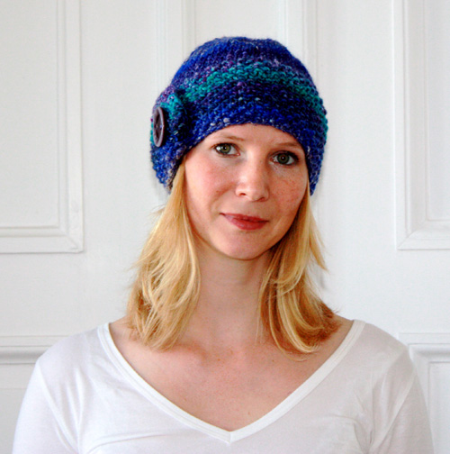 Mütze aus Noro Silk Garden Chunky